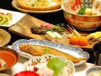 有明海の幸を盛り込んだ「有明海郷土料理」