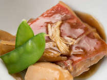 *【夕食(一例)】金目鯛/煮付け(切り身)