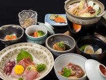 *【夕食(一例)】リーズナブル料理/全体