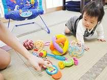 赤ちゃんプランの貸出のおもちゃ