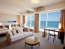 リゾート感あふれる客室はクチコミも高評価!※イメージ画像