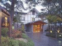 上林ホテル仙壽閣(せんじゅかく) 印象に残る掛け流し温泉