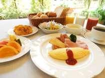 朝食バイキング(洋食例)