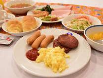 *ご朝食一例/バイキング形式でお食事をお愉しみいただけます。