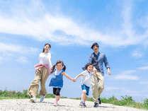 *【ファミリー(イメージ)】家族みんなで旅行を楽しもう♪