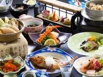 潮彩膳2019年9月以降料理。※一例