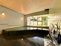*大浴場/惜しみなく湧き出る源泉は濃度の濃い塩化物泉の泉質。腰痛や神経痛、リウマチ等に効果◎