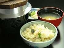 【季節限定】氷見産 岩牡蠣の炊き込みごはん♪
