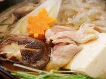 那須のかな鳥を使った地鶏鍋を