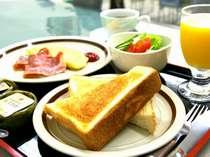 頑張れビジネスマン朝食、Qカード付シングルプラン