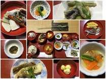 ━☆【奥能登里山料理】☆━ ●輪島塗の御膳は昔から祝い事など我が家の特別なお客様に使用されるものです