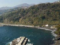 【赤沢望洋台】太平洋に浮かぶ大島・利島・式根島などを周囲に配した別荘地です。