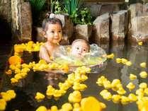家族風呂はもちろん無料/スイマーバ(乳幼児用浮き輪)無料貸出あり!