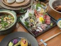 ○海鮮グルメプラン○アワビの踊り焼や季節のお魚の煮付けに感動!一番人気プラン!