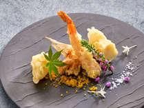 [夕食一例]和食・洋食のコラボレーション「お箸で食べる、フレンチ会席」!