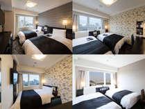 部屋タイプはホテルおまかせ♪1ベッドのセミダブル・ダブル等の部屋タイプになる可能性もございます!