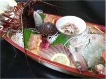 伊勢海老舟盛りプラン☆彡伊勢海老から、地魚までたっぷりと天草の幸が楽しめる♪