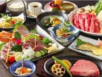 ◆本館宿泊◆ボリューム満点!いろどりプラン+黒毛和牛ステーキで大満足≪ステーキ付きプラン≫