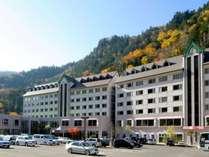 雄大な自然に囲まれた朝陽リゾートホテル