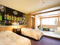 【レバンガルーム】タペストリーやポスターを飾ったお部屋をご用意(写真はイメージです)