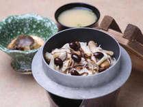 【愛別きのこ飯】上川産の食材をふんだんに使用したご当地ランチ