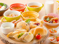 【ル・マッターホルン】朝食/世界のパンなど洋食メニューを中心にご用意