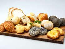【ル・マッターホルン】<朝食/世界のパンが大集合!>クロワッサンやライ麦パンなど焼立てをご用意