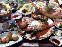 *伊豆の味覚金目鯛をまるっと1本煮付けた【金目鯛1本】コース脂ののった美味しい金目鯛を味わいください