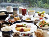 朝食バイキング(メニュー一例)