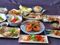 ○伊勢えび&旬の味覚がWで食べられるおススメプラン