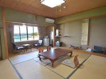 *【バス・トイレ無客室】窓からは白浜ビーチと英虞湾の島々と志摩半島が一望。