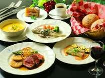 「地元食材×毎日食べても飽きない料理」をテーマに喜んでいただける欧風料理をお楽しみいただけます。