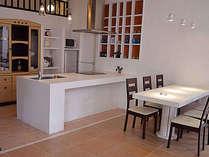 アイランドキッチン&ダイニングテーブルです。