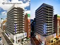 ◆外観、近鉄線大阪上本町駅より徒歩2分、谷町線谷町九丁目駅より徒歩5分の好立地♪