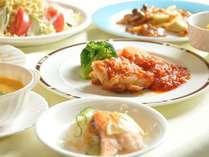 【ご夕食一例】地産地消はお墨付き!福島県知事認定「食彩ふくしま地産地消推進店」に選定されています♪