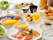 レストラン「アゼリア」での朝食バイキング!