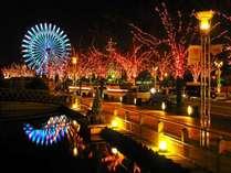 神戸ガス灯通りのイルミネーション