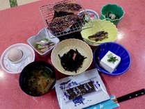 【朝食付】焼いて食べる和朝食♪朝から、漁師料理でご飯がススム^^!