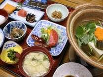 *【朝食一例】女将手作りの温かい和食