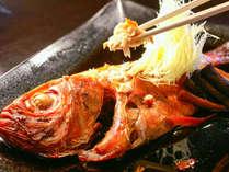 絶品!金目鯛姿煮 甘辛くホクホクに炊き上げます。