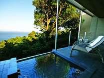海の平屋棟:テラスで時を忘れ、新鮮な空気の中ゆったりとお過ごし頂けます。