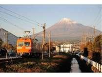 【富士の町を駆け抜ける】岳南鉄道プラン☆☆