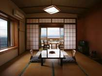 ちょっとレトロな木造の和室8畳タイプ 眺望良し♪
