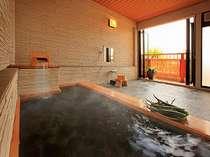 アロエ貸切風呂は和の趣のある解放感♪