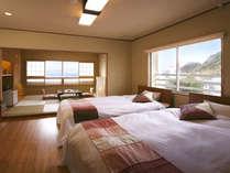 *特別室の305号室、角部屋なのでとっても明るいお部屋です。