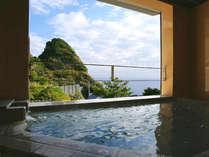 *貸切風呂からの眺め。