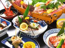 *お料理一例/旬の山の幸海の幸を盛り込んだ料理