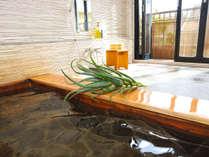 *アロエ貸切風呂/しっとりすべすべ!55分1組1,500円(税別)