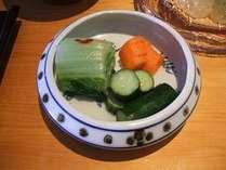 【お料理一例】おばちゃん厨房自家製漬物!