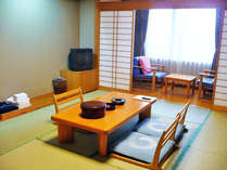 【お部屋一例】7.5畳・10畳・21畳の3タイプの和室があります。
